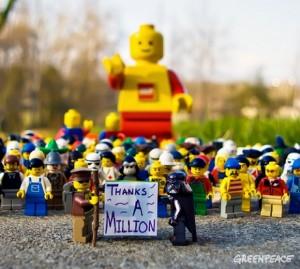 Lego y su campaña VS Shell