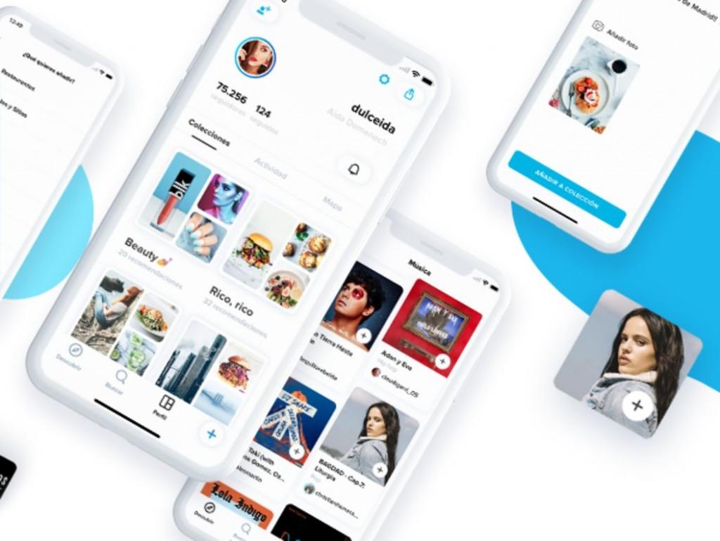 Peoople la app que paga a sus usuarios, pantallas interfaz
